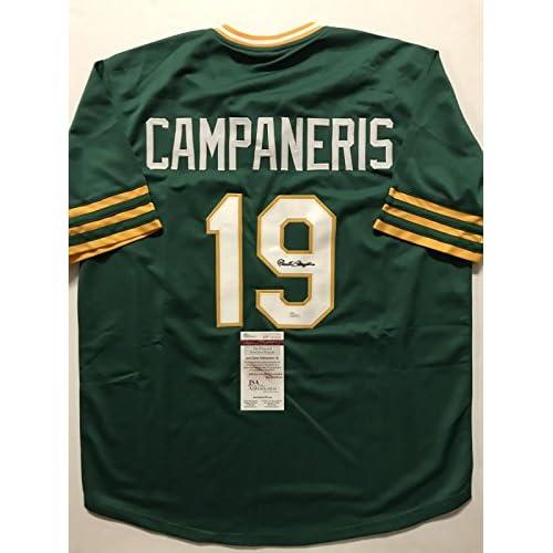 100% authentic 519e9 5a261 Autographed/Signed Bert Campaneris Oakland Athletics A's ...