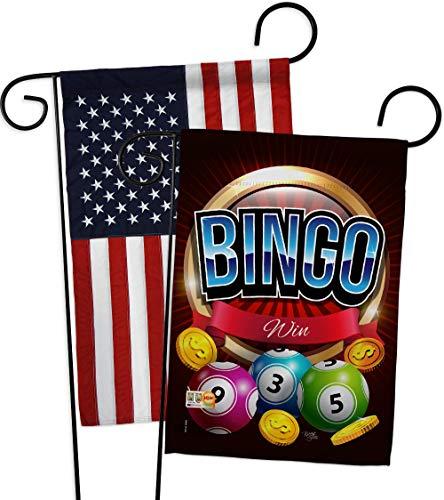 Breeze Decor GP109075-BOAB Bingo Win Interests Hobbies Impressions Decorative Vertical 13