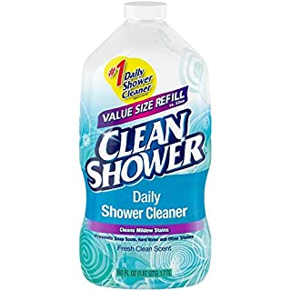 Clean Shower Daily Shower Cleaner Refill 60oz (Packaging May Vary)