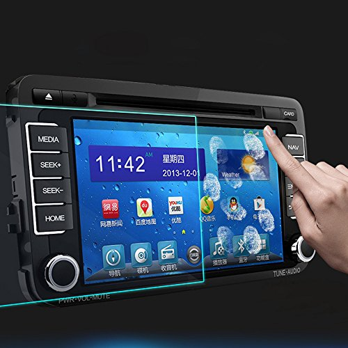 SalaBox-Accessories - LCD Screen Protector Car Stickers Car Styling Prevent Scratches GPS Navigation Screen Protective film For Hyundai Tucson 2015 from SalaBox-Accessories