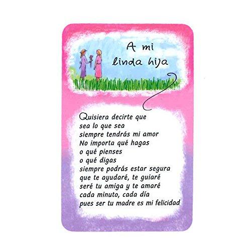 Blue Mountain Arts A Mi Linda Hija /Quisiera Decirte Que Wallet - Boutique Linda
