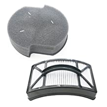 Bissell Powerlifter Pet Filter Kit. Includes Washable Foam Filter 1604127 and Washable HEPA Filter 1604130.