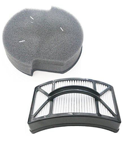 Post Motor Filter Kit - Bissell Powerlifter Pet Filter Kit. Includes Washable Foam Filter 1604127 and Washable HEPA Filter 1604130.