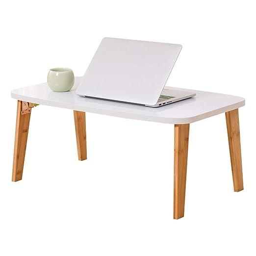 XJY Ordenador portátil Mesa de Escritorio Mesa Plegable Pequeña ...