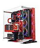 water cooled gaming pc - Skytech Supremacy X PLUS Gaming Computer PC Desktop - i7-7700K, 500GB Samsung 960 Evo SSD, GTX 1080 Ti 11GB, 360mm CPU & GPU Water Cool, 2TB, 32GB DDR4