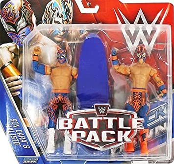 WWE Battle Pack Series 42 Action Figure - Sin Cara & Kalisto (The Lucha Dragons) by Wrestling: Amazon.es: Juguetes y juegos