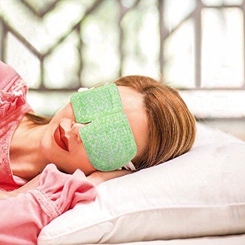 BestFire Hot Steam Eye Mask Warm Eye Patch Steam Eye SPA Mask Relieve Eye Tiredness Remove Eye Dark Circles,Lavender Fragrance- 2 Packs(10 Pcs) by BestFire® (Image #6)