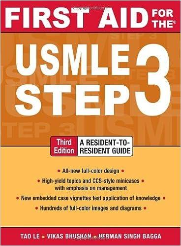 Kết quả hình ảnh cho FIRST AID for the USMLE STEP 3