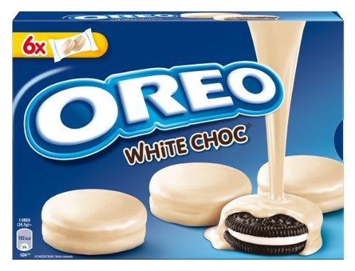 Oreo de chocolate White, 5 unidades (5 x 246 ...