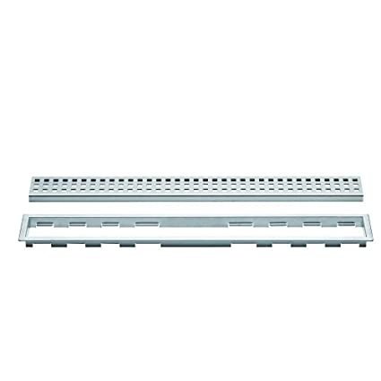 90 Degree Low Profile Shower Drain.Schluter K Line 48 Perforated Shower Grate Klb19eb120 Ducting