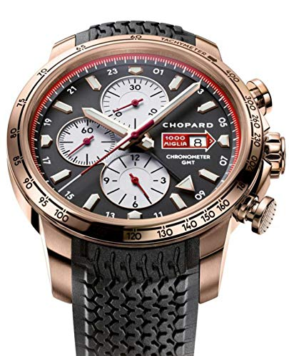 Chopard Miglia Men's Rose Gold Automatic Chronograph GMT Watch