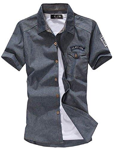 Orange Ananas 大きいサイズ も 半袖 メンズ ファッション アメカジ カジュアル アウター シャツ T-078