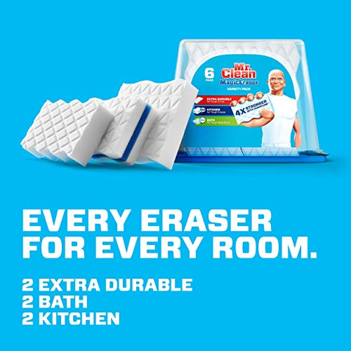 mr clean magic eraser variety pack cleaning pads durafoam 6ct twinpack buy online in uae. Black Bedroom Furniture Sets. Home Design Ideas