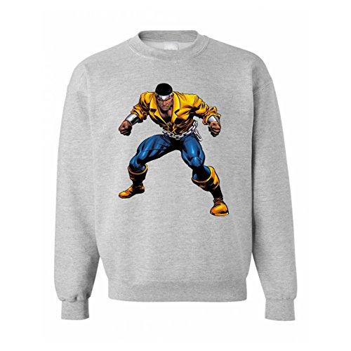 Luke Cage Fight Yellow Blue Unisex Sweater