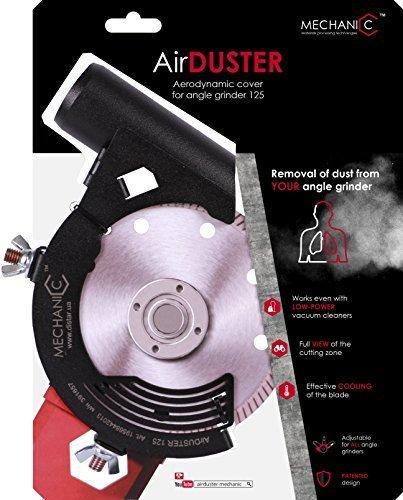 MECHANIC Air Duster - Amoladora angular (campana de extracció n, 115 mm, 125 mm, 230 mm) DiamantWerk