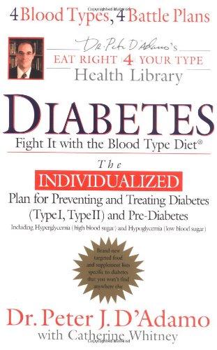 is blood type diet good for diabetes?