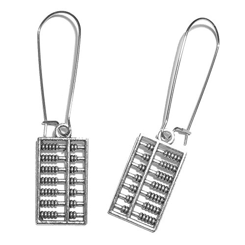 Sabai NYC Nerdtastic Math Geek Abacus Charm Dangle Earrings (Abacus)