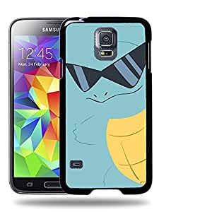Case88 Designs Pokemon Squirtle Protective Snap-on Hard Back Case Cover for Samsung Galaxy S5