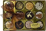 Barnett's Holiday Gift Basket | Chocolate Oreo Cookies Gifts Box | 12 Delicious Flavors | Unique Elegant Gift Idea For Men, Women, Birthdays, Corporate Gifts Baskets for Christmas Thanksgiving
