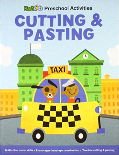 Amazon.com: Cutting and Pasting (Flash Kids Preschool Activity ...