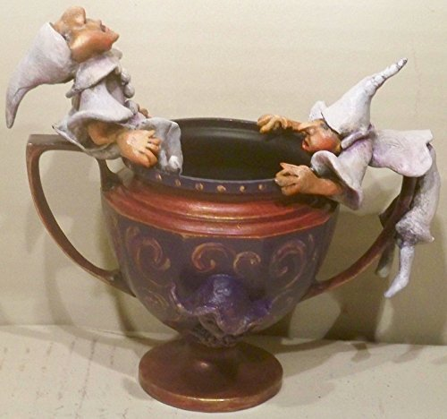 Pulcinella Handmade, Hand Painted, Hand Sculpted, Italian Figures, Decorative, Sugar Bowl, Gift, Figurene, Mother's Day Gift
