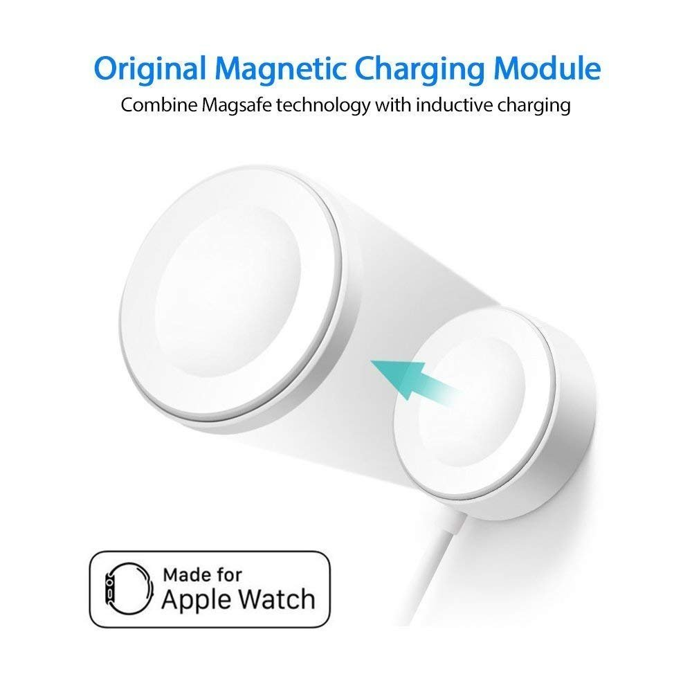 Apple Watch Charger, Charging Cable for Apple Watch/iWatch, Magnetic Wireless Charger USB Charging for Apple Watch Series 2/3/Nike+/Edition by Saleward (Image #5)