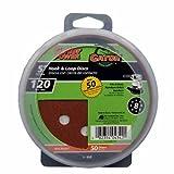 Gator Finishing 4342 120 Grit Aluminum Oxide Sanding Discs (50 pack), 5''