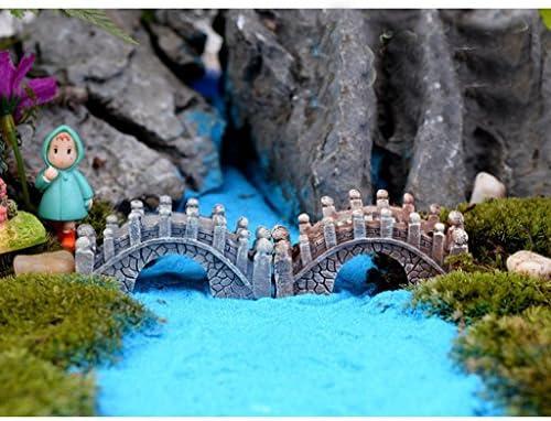 Keler Mini puente molde decoraciones de jardín puente de estilo chino decoración para casa de muñecas: Amazon.es: Hogar