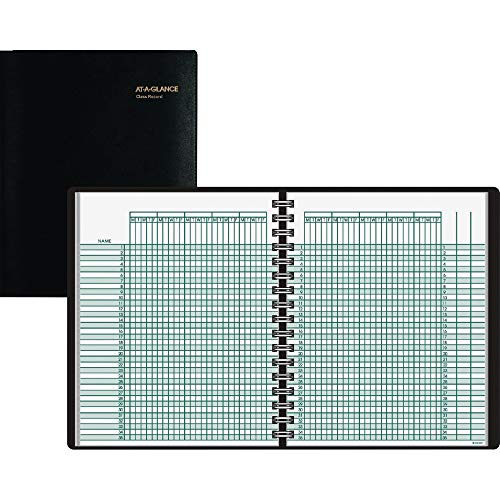 AT-A-GLANCE 8031005 Four-Person Group Undated Daily Appointment Book, 8 1/2 x 10 7/8, White -