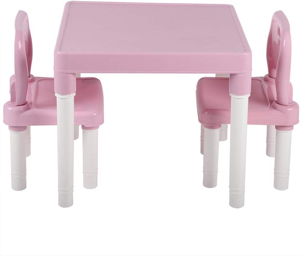 Yunnyp Children's Plastic Learning Chair Set, Children's Plastic ...