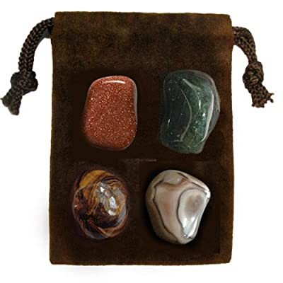Gemstone ENERGY SET Crystal Healing - STRENGTH