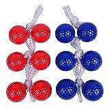 Keehoo Real Golf Balls(6 Pack) Ladder Toss Game