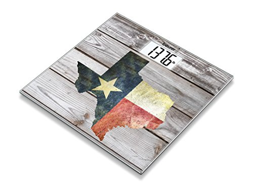 Beurer Glass Scale With Texas Design, GS 203 Texas