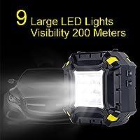 WLZP Inflador de neumáticos Digital con luz led indicadora de ...