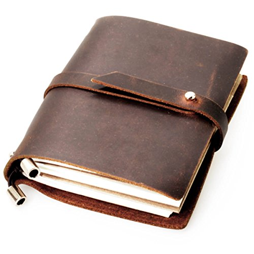 Crazy Horse Leather Notebook 5 5x4 3x1 2 product image