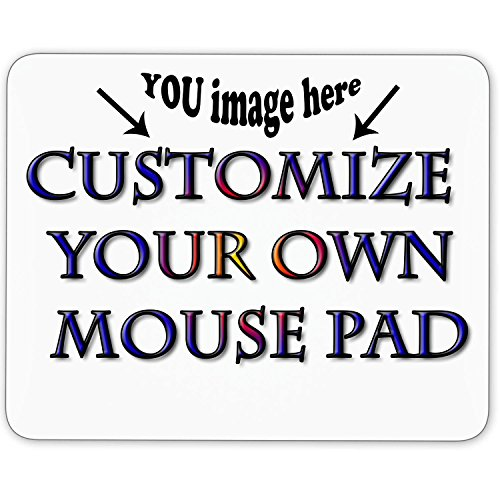 (Personalized Mouse Pad - Add Pictures, Text, Logo or Art Design and Make Your own Customized Mousepad - Gaming, Office, Mousepad.)