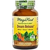 MegaFood - Dream Release, Promotes Mental Calm to Support Deep Relaxation and Restorative Sleep with Ashwagandha and Valerian Root, Vegan, Gluten-Free, Non-GMO, 60 Tablets (FFP)