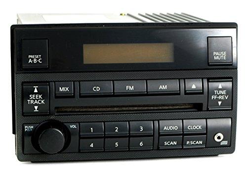 Input Nissan Aux (Nissan Altima 2005-06 Radio AM FM CD Player w Aux Input Spd Vol Ctrl 28185ZB10B)