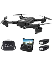 Docooler SG900 RC Drone with Camera 4K 22mins Flight Time RC Quadcopter Optical Flow Positioning Gesture Photo Video Image Follow Altitude Hold Drone 2 Battery Handbag
