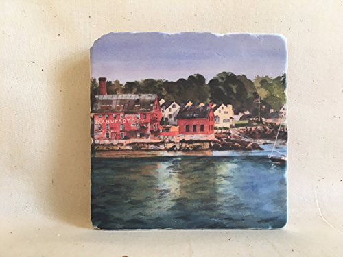 Paint Factory Marble Tile Coaster - North Shore Marble