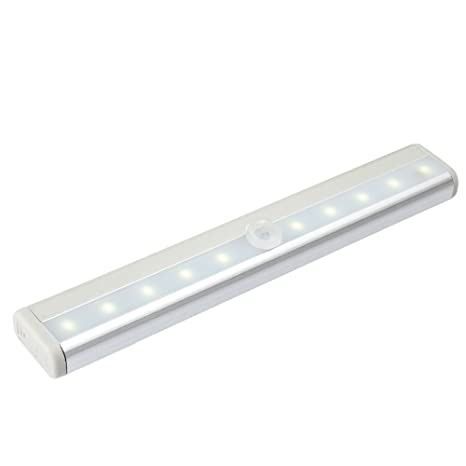 Magiclight 3 modo Stick de 10 lámpara LED con sensor de movimiento con interruptor, funciona