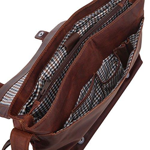 Rada Nature Aktentasche Rockhampton Umhängetasche mit Laptopfach in verschiedenen Farben (sandal/tan) sandal/tan nEKAtQM1Sd