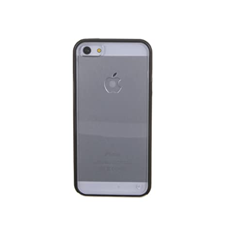 DAM DMI078 - Carcasa Borde Apple iPhone 5, Color Negro ...