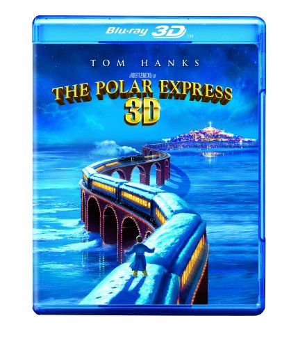 Blu-ray 3D : The Polar Express (3D) (, Dolby, AC-3, 3 Dimensional, O-Card Packaging)