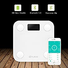 Bazaar YUNMAI HaoQing Mini Smart Weighing Scale Digital Body Fat Electronic Balance Support Android And IOS Bluetooth