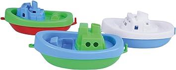 Lena 65470 Wasserspaß Boote, 3 Stück: : Spielzeug