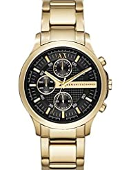 AX Armani Exchange AX2140 Chronograph Bracelet Watch, 40mm Gold/ Black