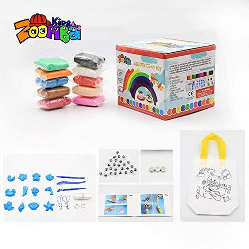 Air Dry Clay kit By Zoomba Kids NonToxic clay I