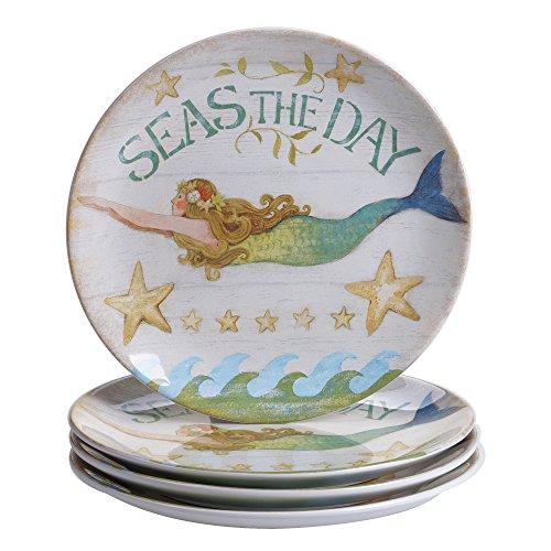Certified International Sea Beauty Dinner Plates (Set of 4), 11