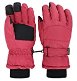 #10: ThunderCloud Women's Winter Waterproof Touchscreen Ski Gloves